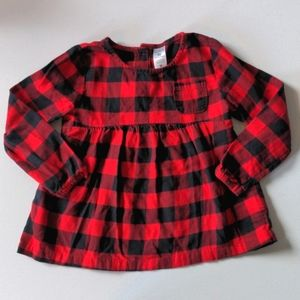 Carter's Plaid Shirt * 5t Girls
